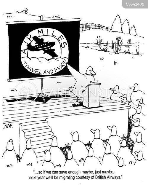 british airways cartoon