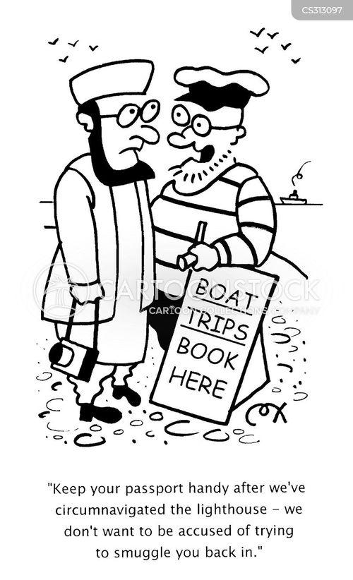 old sea dog cartoon