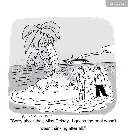 tropic cartoon