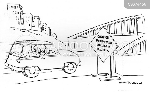 cautioning cartoon