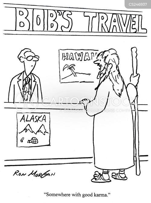 good karma cartoon
