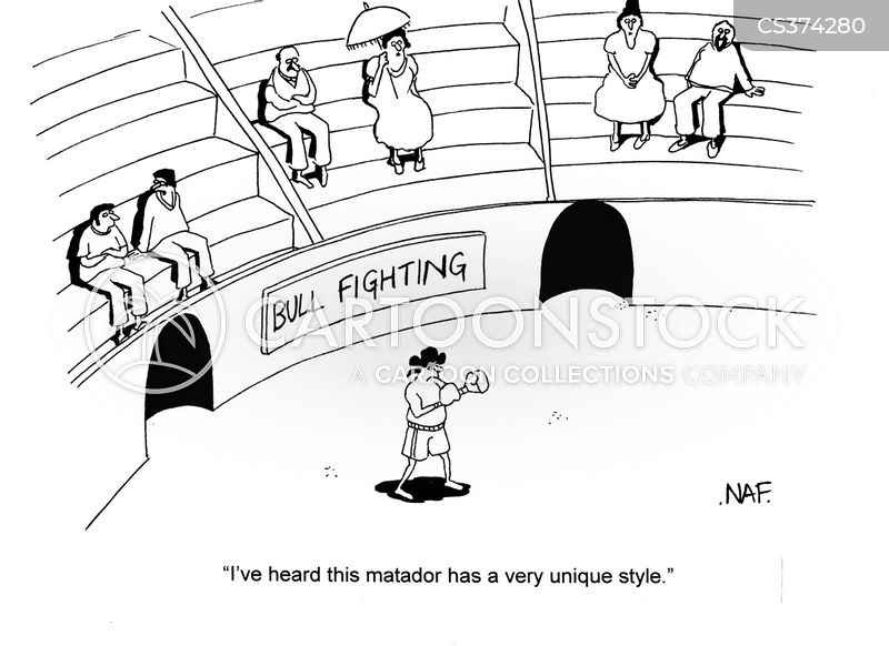 boxing glovers cartoon
