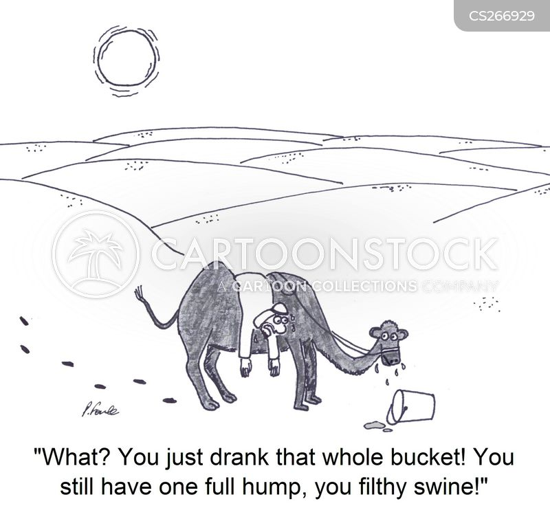 Camel-toe Cartoons and Comics - funny pictures from CartoonStock