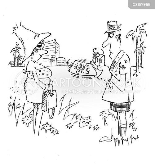 lens cap cartoon