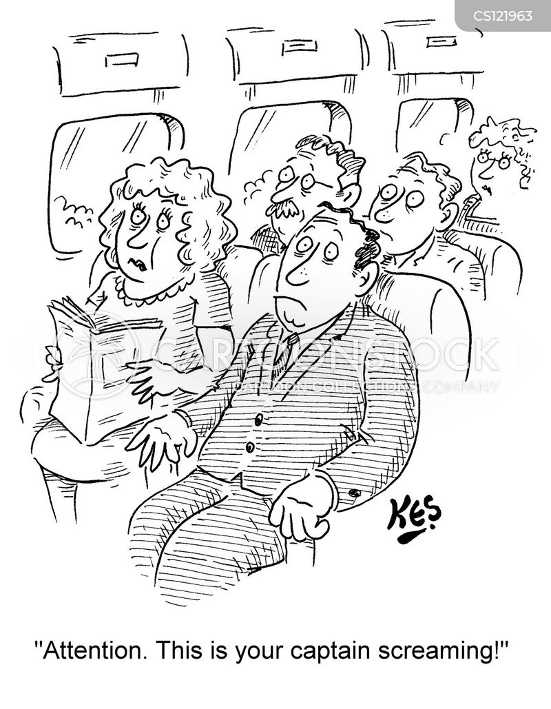 aeroplane crashes cartoon