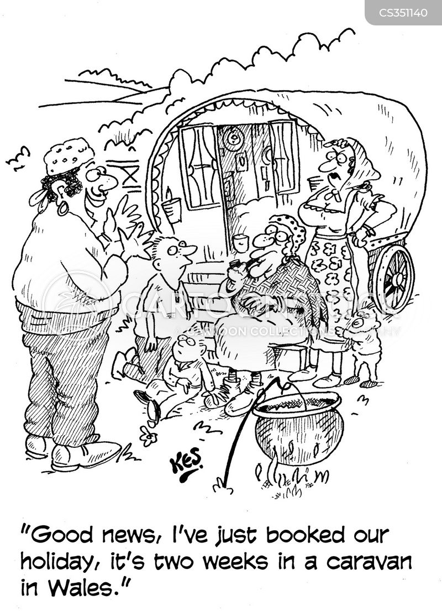 caravaning cartoon