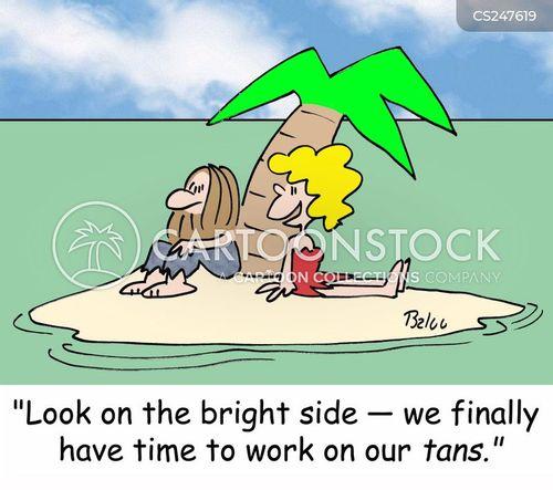 sun worshipper cartoon