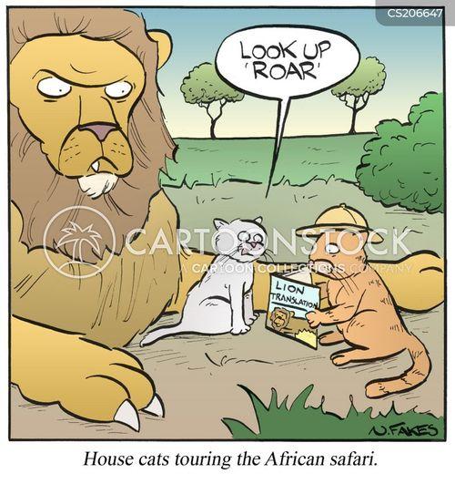 roar cartoon