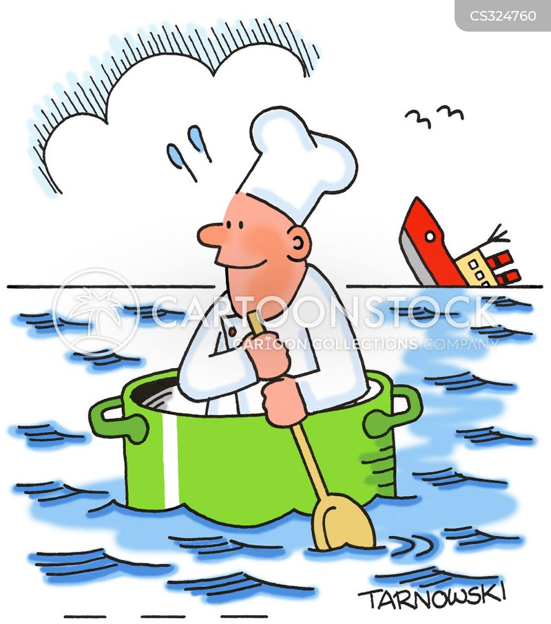 ocean liners cartoon