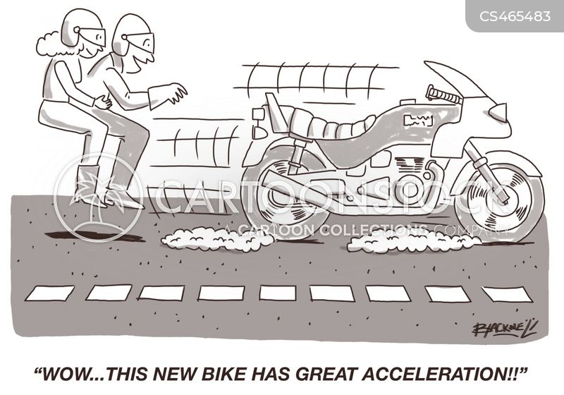 accelerations cartoon