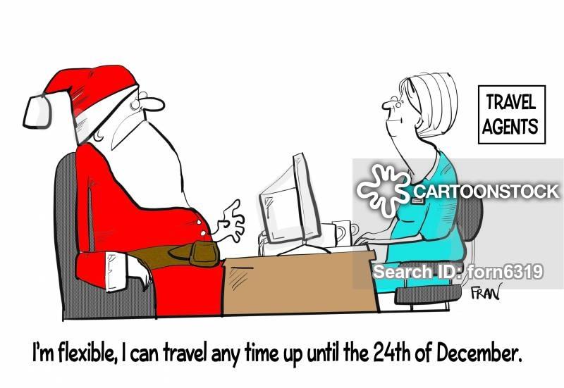 travel plans cartoon