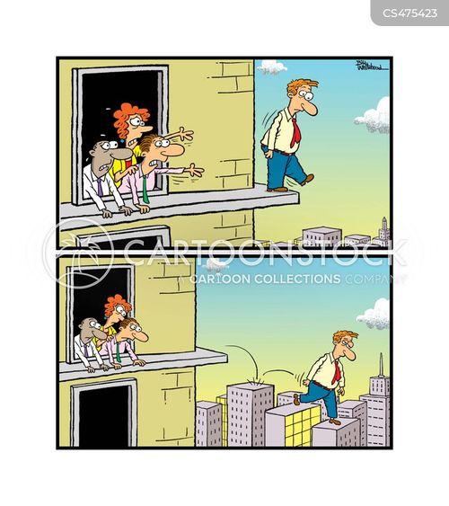 visual illusion cartoon