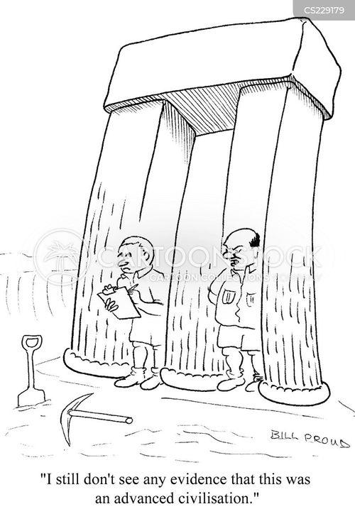 evident cartoon
