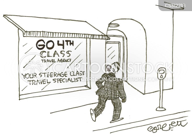 steerage cartoon