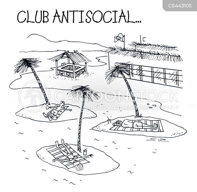 dream vacation cartoon