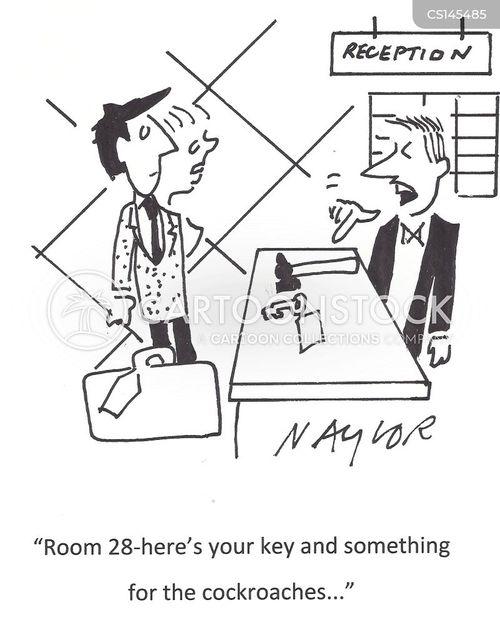 room key cartoon