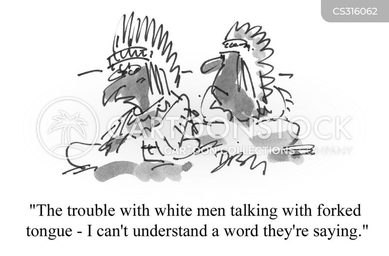 white man cartoon