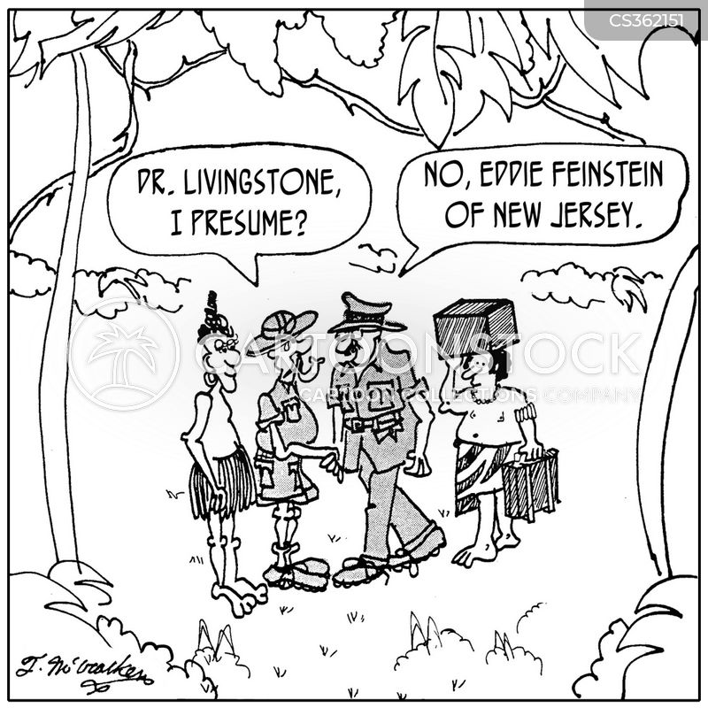 Wonderful U0027Dr. Livingstone, I Presume?u0027 U0027No, Eddie Feinstein Of New Jersey.u0027 Regarding Doctor Livingstone I Presume