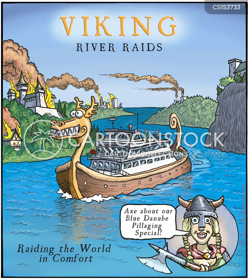 river cruises cartoon
