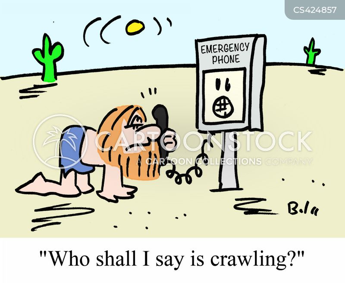 emergency phones cartoon