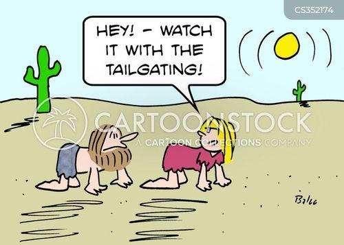 tailgated cartoon