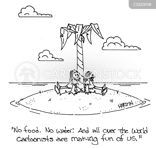 ridiculed cartoon