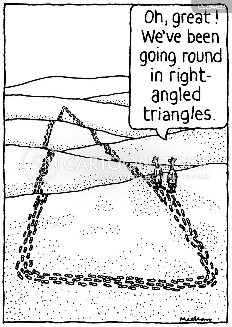 right angles cartoon