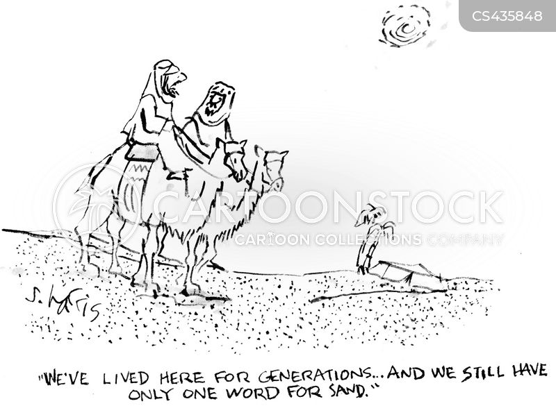 desert nomads cartoon