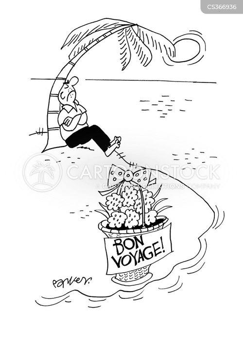 bon voyage cartoon