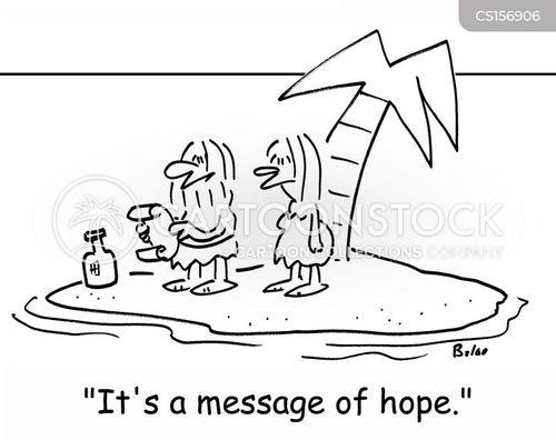 message of hope cartoon