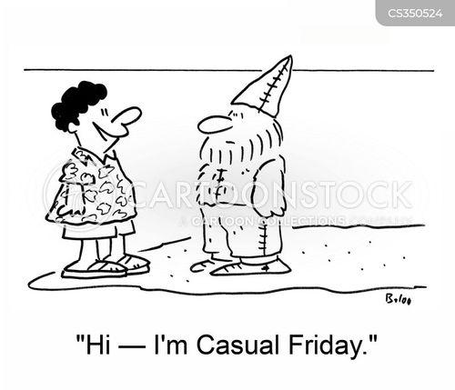man friday cartoon