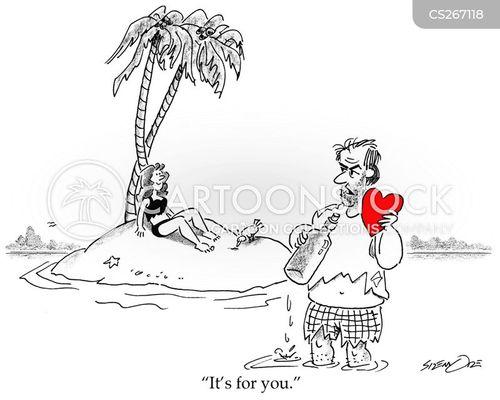 Valentinskarte Cartoon 1 Von 1