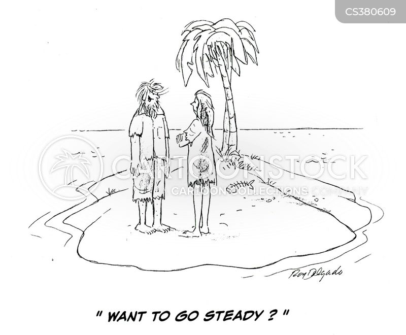 going steady cartoon
