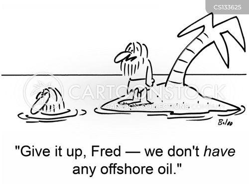 offshore oil cartoon