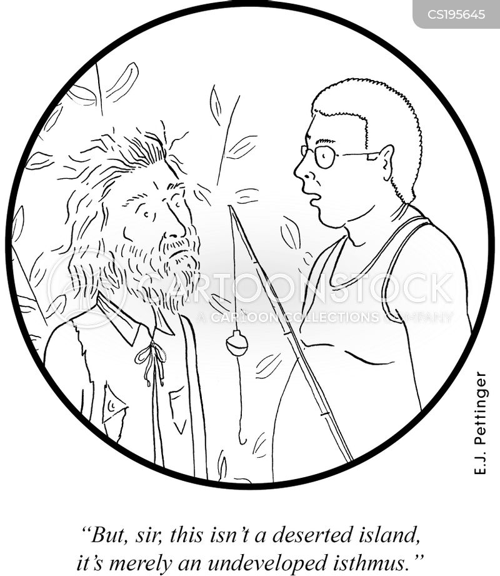 isthmus cartoon