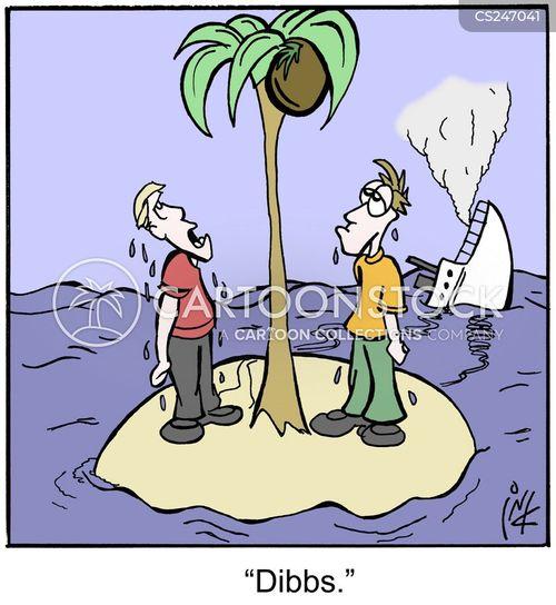 drowned cartoon