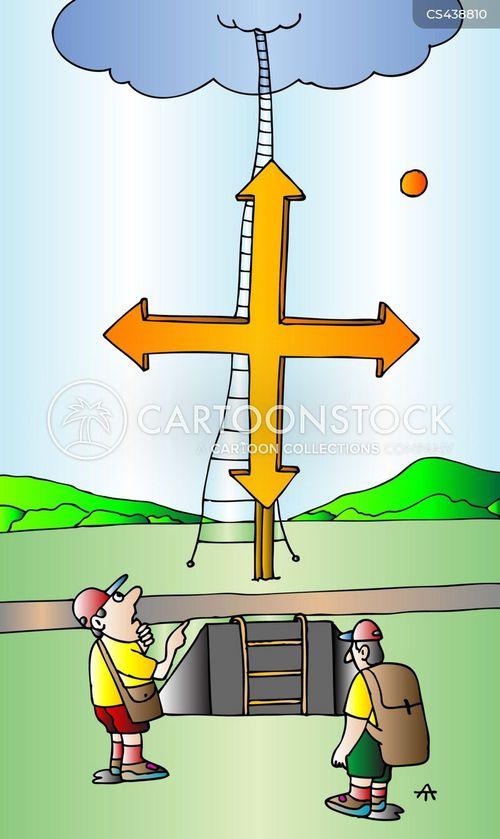 pathways cartoon