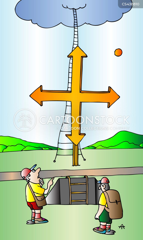 pathway cartoon