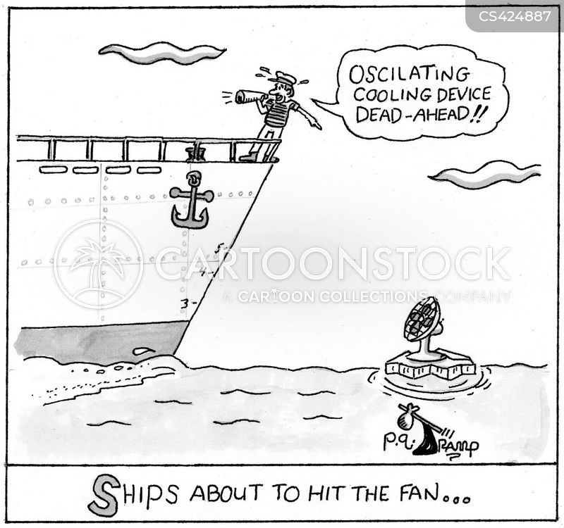 impending disaster cartoon