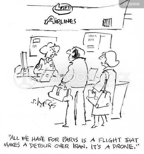 detouring cartoon
