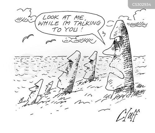talking head cartoon