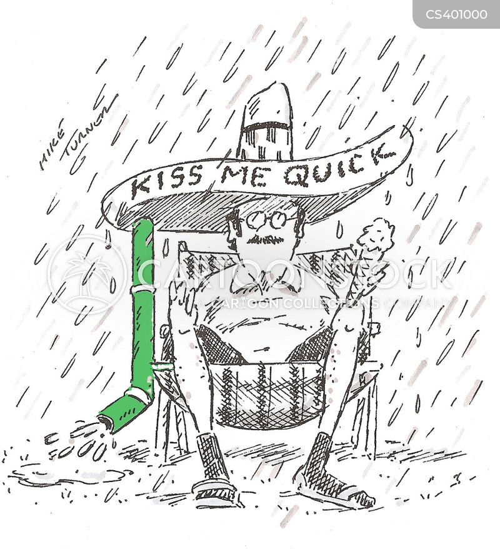 wet summer cartoon