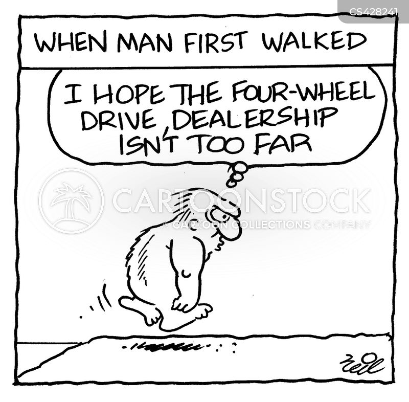 bipedal cartoon