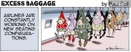 excess baggage cartoon