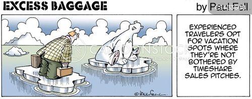 vacation destinations cartoon