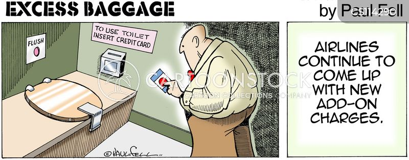 extra charges cartoon