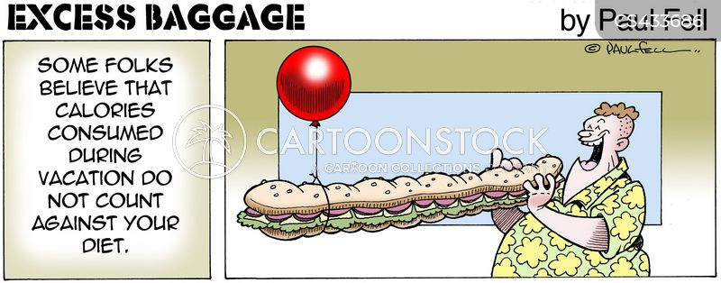 Holiday Weight Cartoons Cartoon Funny Picture