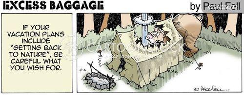 camp site cartoon