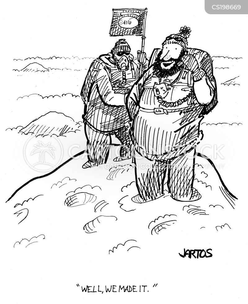 arctic explorer cartoon