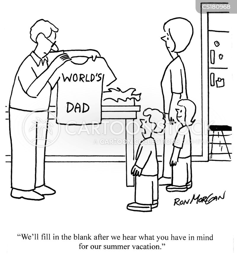fathers day cartoon